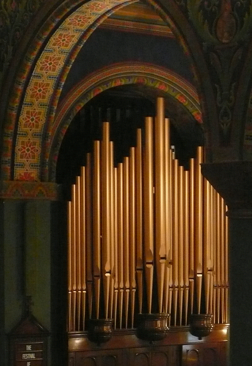 St. Marks Organ Pipes Baltimore, MD